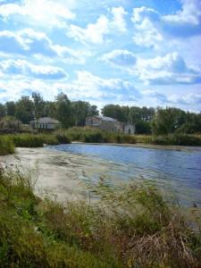 Пруд на реке Еманжелинке