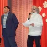 На сцене Виктор Бабкин и Олег Павлов