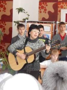 Поет С. М. Кокурина