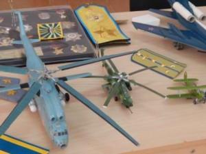 Выставка макетов военной техники