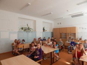 Беседа о животных в летнем пришкольном лагере