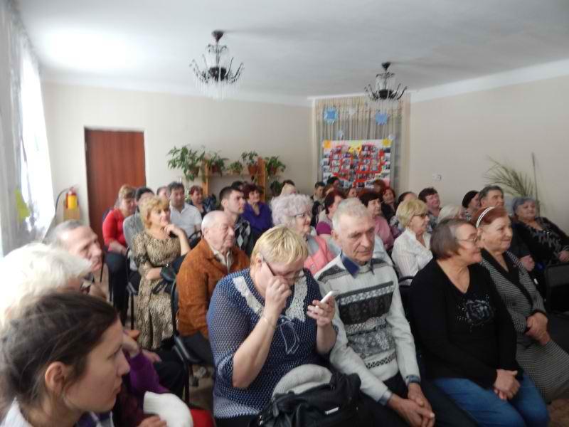 Зрителей полный зал