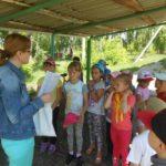 Библиотека в летнем лагере